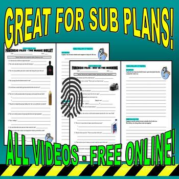 FORENSIC FILES : SUPER BUNDLE PACKAGE (120+ WORKSHEETS & MORE) / FREE UPDATES