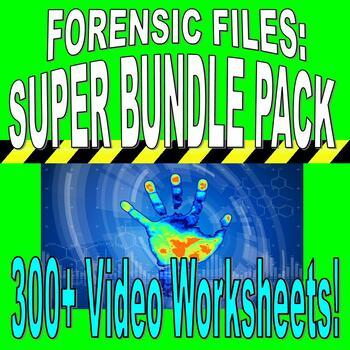 Forensic Files Super Bundle 270 Worksheets Plans More Free Updates