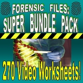 FORENSIC FILES : SUPER BUNDLE (150+ WORKSHEETS, PLANS & MO