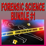 FORENSIC SCIENCE Bundle 1 (20+ Assignments / 70+ Pages)