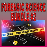 FORENSIC SCIENCE Bundle #2 (13+ Assignments / 70+ Pages) - Sub Plans