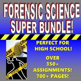 FORENSIC SCIENCE SUPER BUNDLE (300+ ASSIGNMENTS & FREE UPDATES)