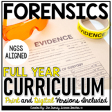 FORENSICS CURRICULUM- ENTIRE YEAR COURSE BUNDLE