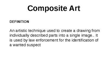 Forensics Forensic Art Composite Art Tpt