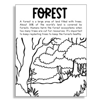 Free Free Biome Coloring Pages, Download Free Clip Art, Free Clip ... | 350x350