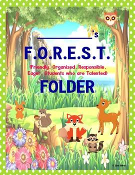 FOREST COMMUNICATION FOLDER