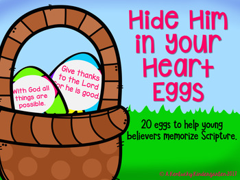 FOREVER FREEBIE: Hide Him in Your Heart Eggs