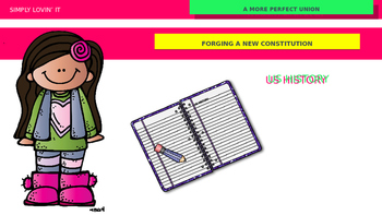 FORGING A NEW CONSTITUTION POWERPOINT