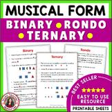 Musical Form: Binary, Ternary and Rondo