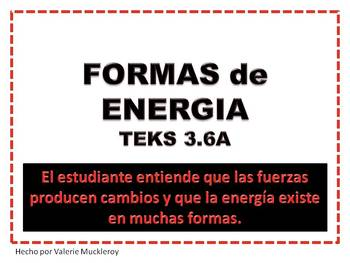 FORMAS de ENERGIA