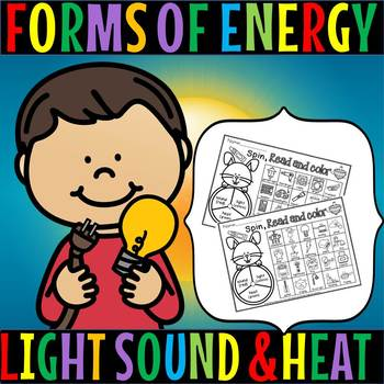 FORMS OF ENERGY/EASTER THEME/SPIN READ AND COLOR