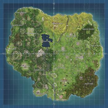 FORTNITE - 9 x MATHS MAPS - GRID, COORDINATE PLANES - HIGHEST QUALITY