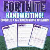 FORTNITE - A to Z Handwriting Program