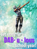 FORTNITE Class Poster Set - Get Ready for a DAB-u-lous New