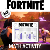 FORTNITE MATH ACTIVITY: END OF YEAR ACTIVITY