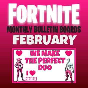 FORTNITE MONTHLY BULLETIN BOARD February