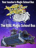 FORTNITE & Magic School Bus Funny Class Poster - Fun, Colo