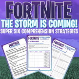 FORTNITE - Super Six Comprehension Strategies - Unit of Work