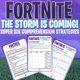 FORTNITE - Super Six Comprehension Strategies - Unit of Work