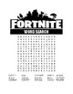 FORTNITE WORD SEARCHES