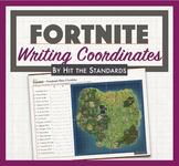 FORTNITE - Writing Coordinates Math Game Activity.