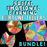 SOCIAL EMOTIONAL LEARNING Fortune Tellers!  Fun SEL Lessons & Group Activities