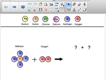 FOSS 5th grade Smartboard Mixtures and Solutions Chemical Equation Atom Models