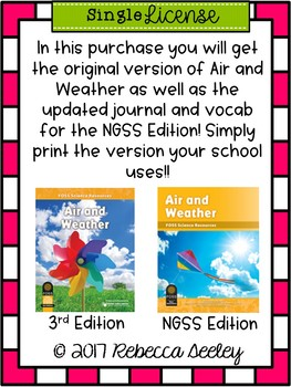 FOSS- Air and Weather: A Kid Friendly Science Journal