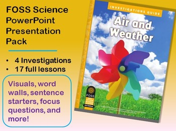 FOSS Science Air and Weather V3 PowerPoint Bundle