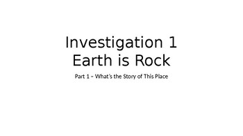 FOSS Earth History Investigation 1 Part 1
