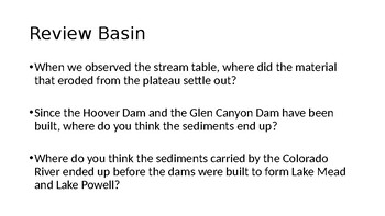 FOSS Earth History Investigation 3 Part 1