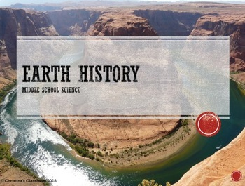 FOSS Earth History PowerPoint Investigation 1.1