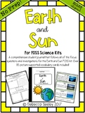 FOSS Earth and Sun- A Kid Friendly Science Journal