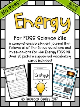 FOSS- Energy: A Kid Friendly Science Journal