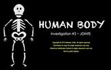 FOSS Human Body SMARTboard Joints Investigation 3rd Grade
