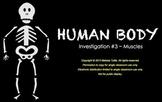 FOSS Human Body SMARTboard Muscles Investigation ~ 3rd Grade ~ Muti-day Unit