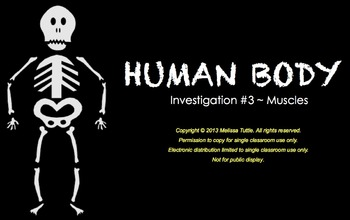 FOSS Human Body SMARTboard Muscles Investigation ~ 3rd Gra