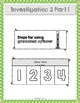FOSS Measurement Investigation 3 Vocabulary and Activity Sheets
