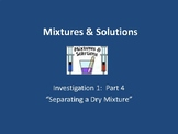 FOSS: Mixtures & Solutions Investigation 1 Part 4