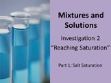 FOSS: Mixtures & Solutions Investigation 2 Part 1