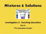 FOSS: Mixtures & Solutions Investigation 2 Part 3