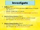 FOSS: Mixtures & Solutions Investigation 4 Part 1