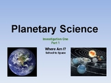 FOSS Planetary Science Investigation 1.1