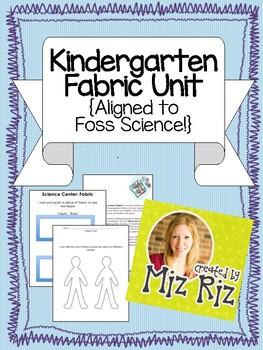 Kindergarten Science Fabric Unit- Printable bundle to supplement the kit!