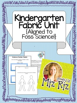 Kindergarten Science Fabric Unit! {Printable bundle to supplement the kit!}