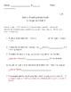 FOSS Science Investigation 1 Part 3