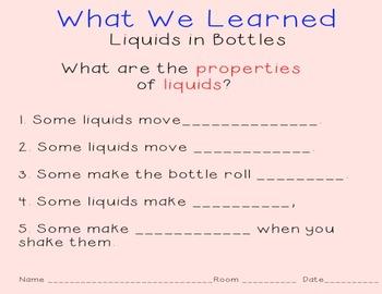 FOSS Science Liquids in Bottles Smartboard