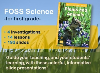 FOSS Science Plants and Animals V3 PowerPoint Bundle