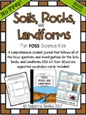FOSS Soils, Rocks, and Landforms: A Kid Friendly Science Journal