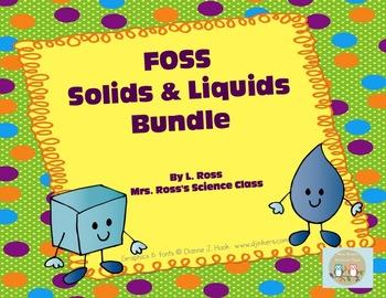 FOSS Solids and Liquids Smartboard Bundle